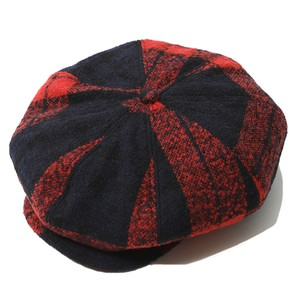 WOOL CASQUETTE (RED) / RUDE GALLERY