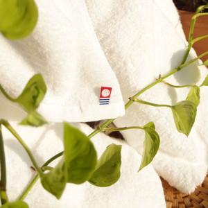 【今治タオル(白色)】インド綿オーガニックバスタオル