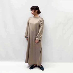 [SALE] KAMILi(カミリ) washable wool blend long one piece 2020秋冬新作 [送料無料]