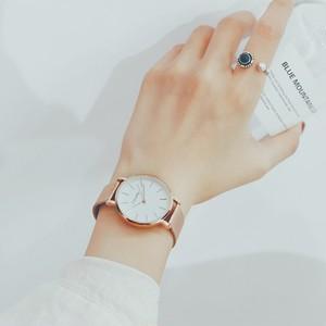 【小物】簡約・シンプルファション薄い腕時計