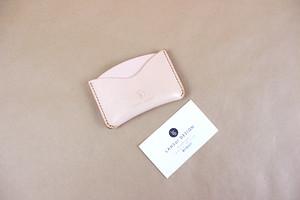 JAPAN LANSUI DESIGN 名入れ対応 ヌメ革手作り手縫い ICカードケース パスケース 品番4K3HDDHF9DSE3