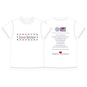 love letter Tour オフィシャルTシャツ
