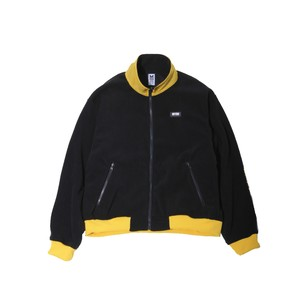 FLEECE BLOUSON / BLACK