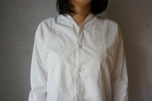 【Phlannèl】Evening Shirt (Women's)  White
