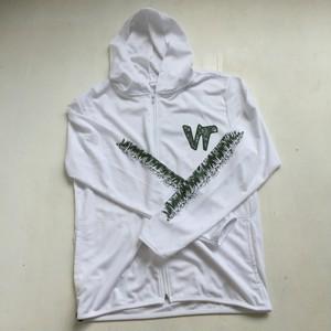 vegetation×CGER ドライメッシュパーカー ホワイト