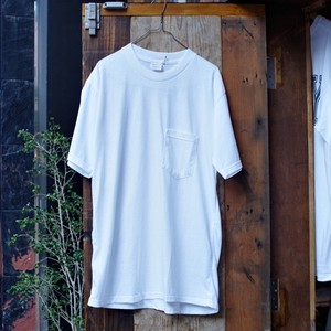 NEW Pocket T-Shirt / Made in USA !! / ポケTee ホワイト アメリカ製