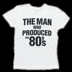 TREVOR HORN 80's Tシャツ(ホワイト / ネイビー)