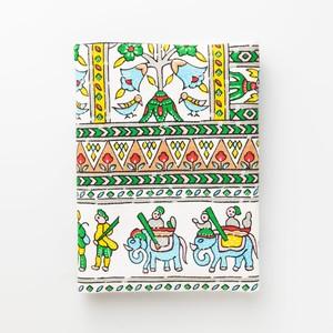 古典柄のブックカバー (文庫本サイズ) Book cover(Classic pattern)