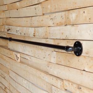 TOPANGA アイアンカーテンポール W200cm