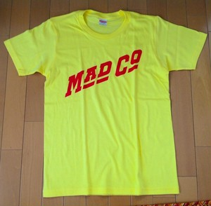 MAD COMPANY T-Sirts YELLOW
