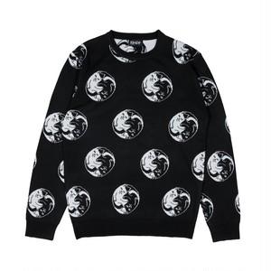RIPNDIP - Nermal Yang Knit Sweater (Black)