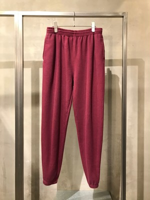 TrAnsference back shape sweat pants - dark red