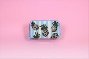 ビーズ刺繍 財布(#99 パイナップル)