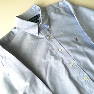 Ralph Lauren : Oxford B.D. shirt (used)