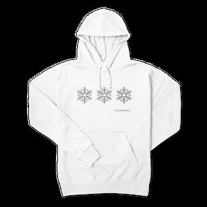 snowflakeオリジナルパーカー