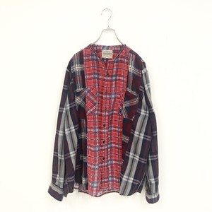 REMAKE CHECK SHIRT(RED)