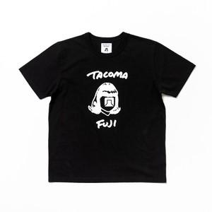 TACOMA FUJI RECORDS HANDWRITING TEE BLACK