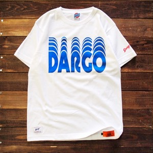 "【DARGO】""Moving Logo"" T-shirt (WHITE)"