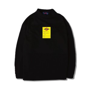 DONT LEAVE L/S TEE / BLACK