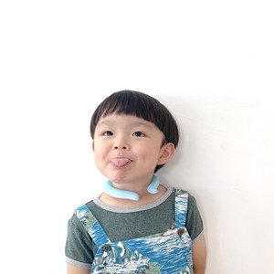 SUO_28°ICE_クールリング_S size (KIDS)_BLUE
