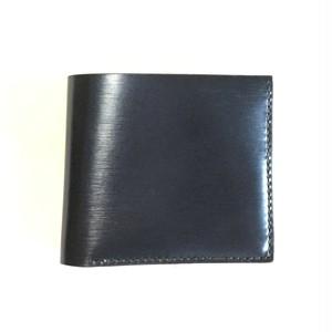 折り財布【カード&お札】ネイビー