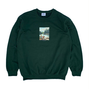RWCHE JOURNEY SWEAT -Forest-