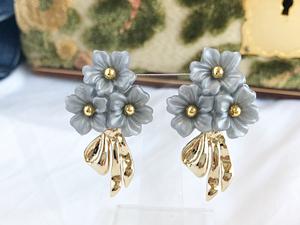 Bouquet ー gold x gray ー