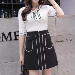 ♡3color パイピングスカート