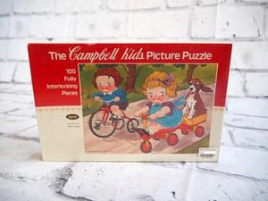 品番2107 キャンベル キッズ ピクチャーパズル アメリカン ヴィンテージ 雑貨