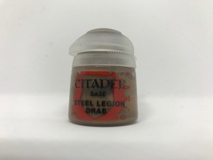 シタデルカラー BASE:STEEL LEGION DRAB