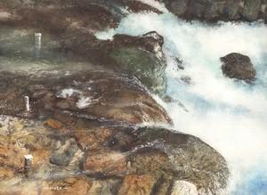 R-流れる川