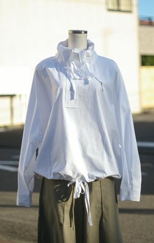 Ladies' / high neck pullover shirt