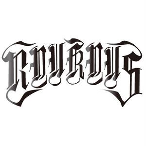 """RYUKYUS""""Script logo""""Cutting sticker"""