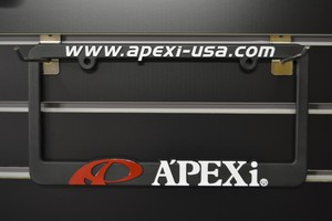 A'pexi Licence plate frames