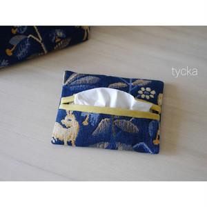 ポケットティッシュケース 北欧スウェーデンの高級織物