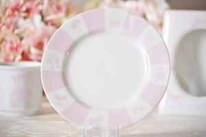 ベビープレート皿 ピンク