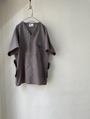 """DA'S,Customized / Medical Shirt """"Dunn"""" /grey(ダズのメディカルシャツ・グレイ)"""