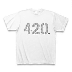 """""""420""""  Tシャツ ブラック"""