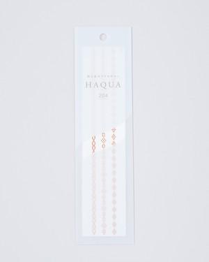 水と箔のアクセサリー HAQUA-ハクア- ピンクゴールド 204