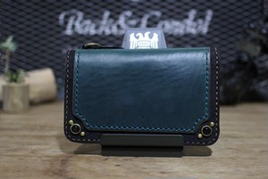 """CHROMEXCEL Wallet"" Midlle,Blue,type4"