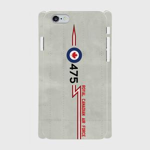 カナダ空軍-CF-101B-ブードゥー-第410飛行隊 iPhoneケース