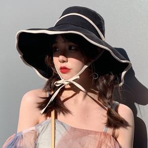 【小物】絶対流行ファッション森ガール無地リボンハット帽子
