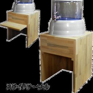 スライドテーブル付き木製台