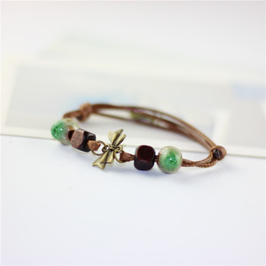 fashion jewelry wholesale ceramic love bangles for women  accessories bracelets & bangles vitage jewelry lot 10263