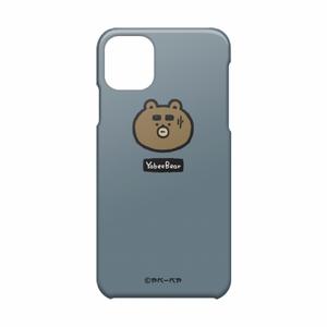 iPhone11 Pro MAXケース(わや顔ブルーグレイ)