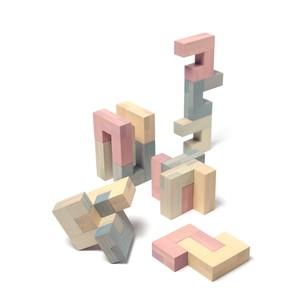 Jino Pastel 【積み木・ブロック・立体パズル・知育玩具】