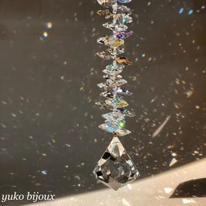 【光りのオクタゴンタワー】スワロフスキーサンキャッチャー