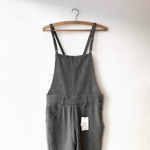 atelier naruse  麻ウールサロペットパンツ  ブラック  サイズ40(new)