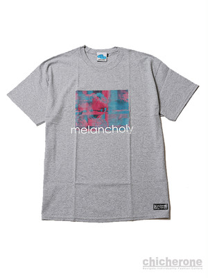 【SLEEPING TABLET】MELANCHOLY [ TEE ] GRAY