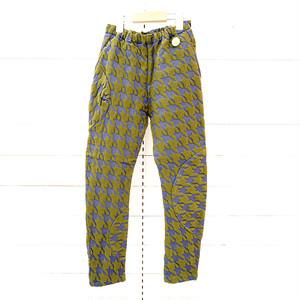 HOUNDSTOOTH JQ SWITCHING PANTS / WOMEN
